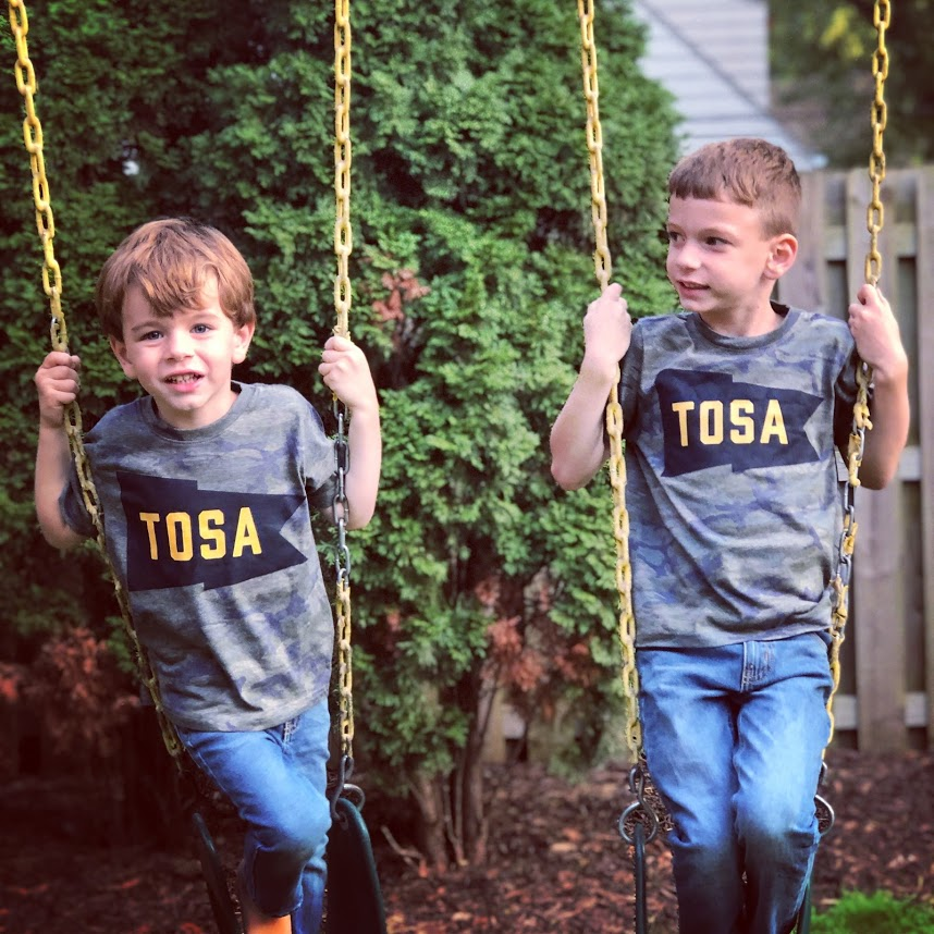Team Tosa Toddler Camo Tee