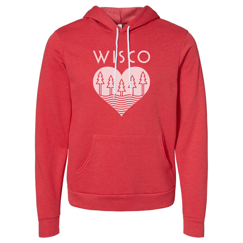 Wisco Roots Red Hoodie - GILTEE