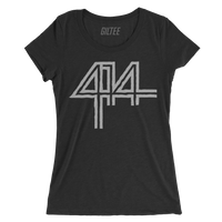 The 414 Charcoal Black Triblend Women's Tee