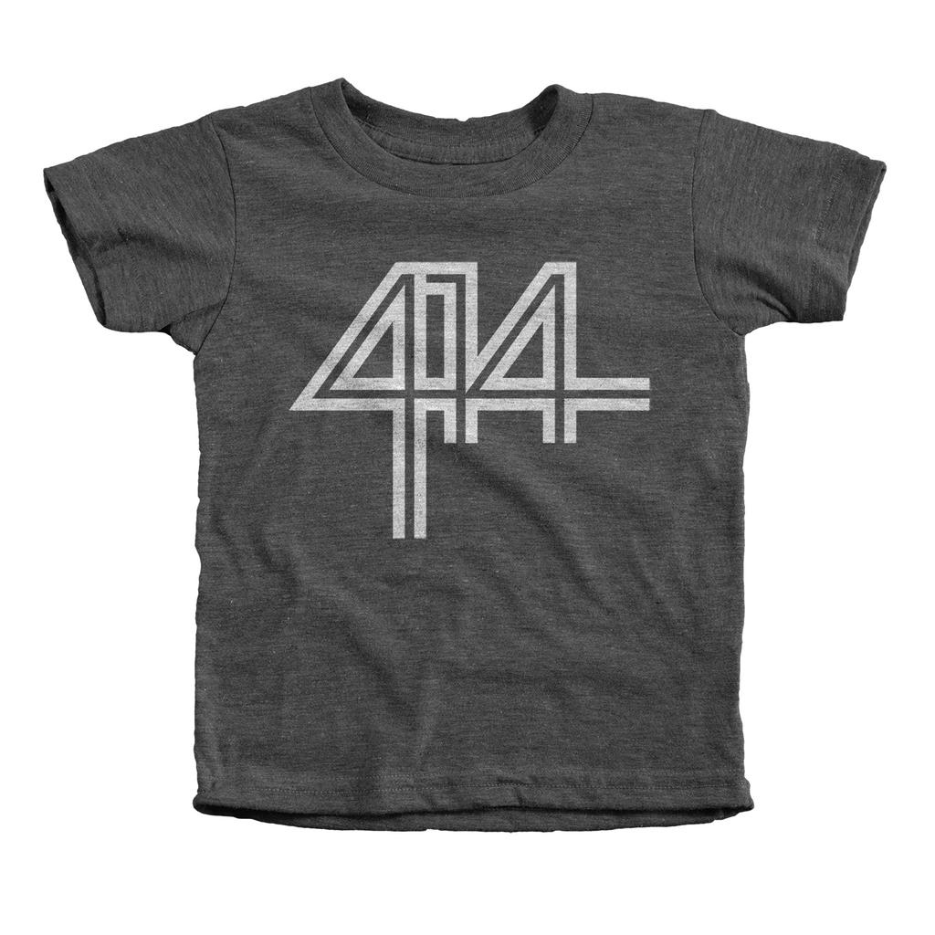 414 Charcoal Infant and Toddler Tee