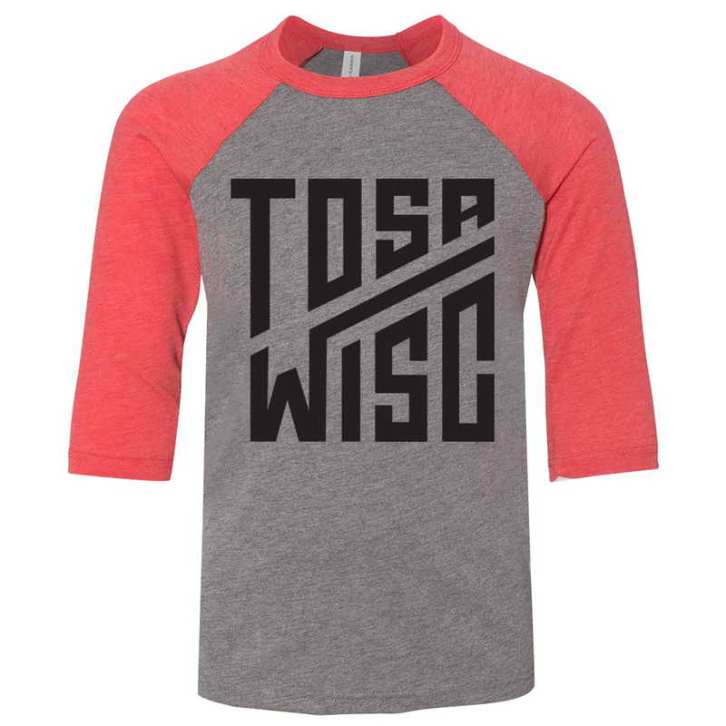 The Grind - Tosa Toddler Raglan Tee