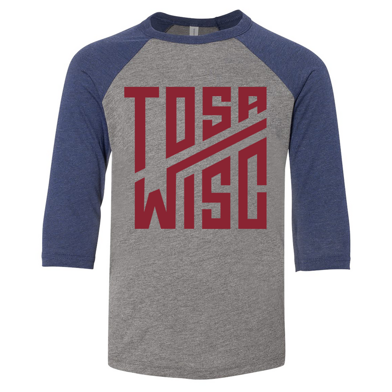 The Grind - Tosa Youth Raglan Tee - GILTEE