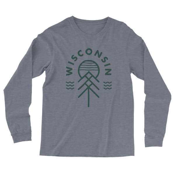 The Wisconsin Native Vintage Knit Long Sleeve Tee - GILTEE