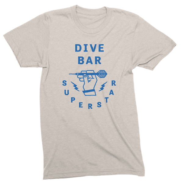 Dive Bar Super Star Unisex Triblend Tee - Oatmeal
