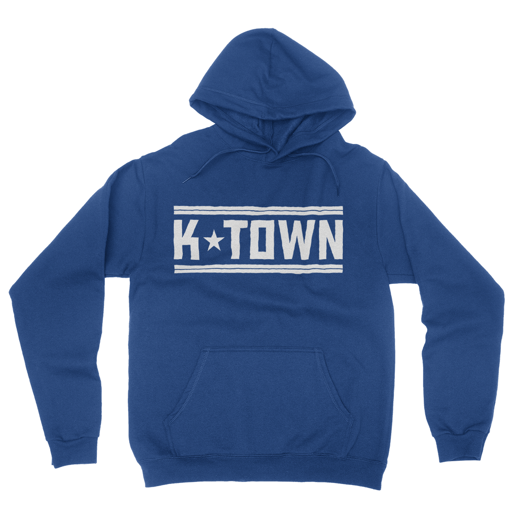 K-Town Heather Royal Fleece-lined Unisex Hoodie