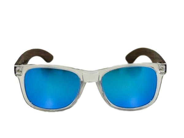State of Wisconsin Great Lake Blue Walnut Sunglasses