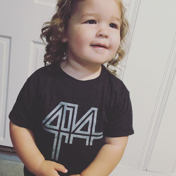 414 Charcoal Infant and Toddler Tee - GILTEE