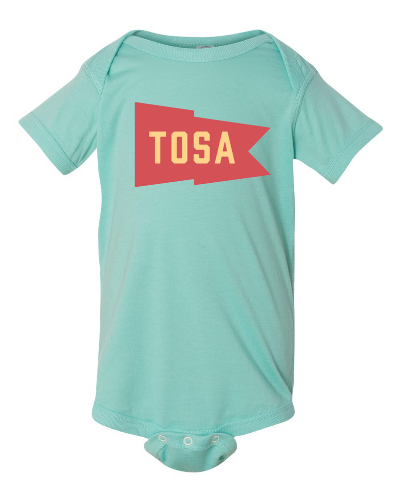 Team Tosa Infant Aqua Onesie - GILTEE