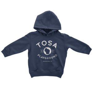 The Tosa Standard Navy Toddler Hoodie