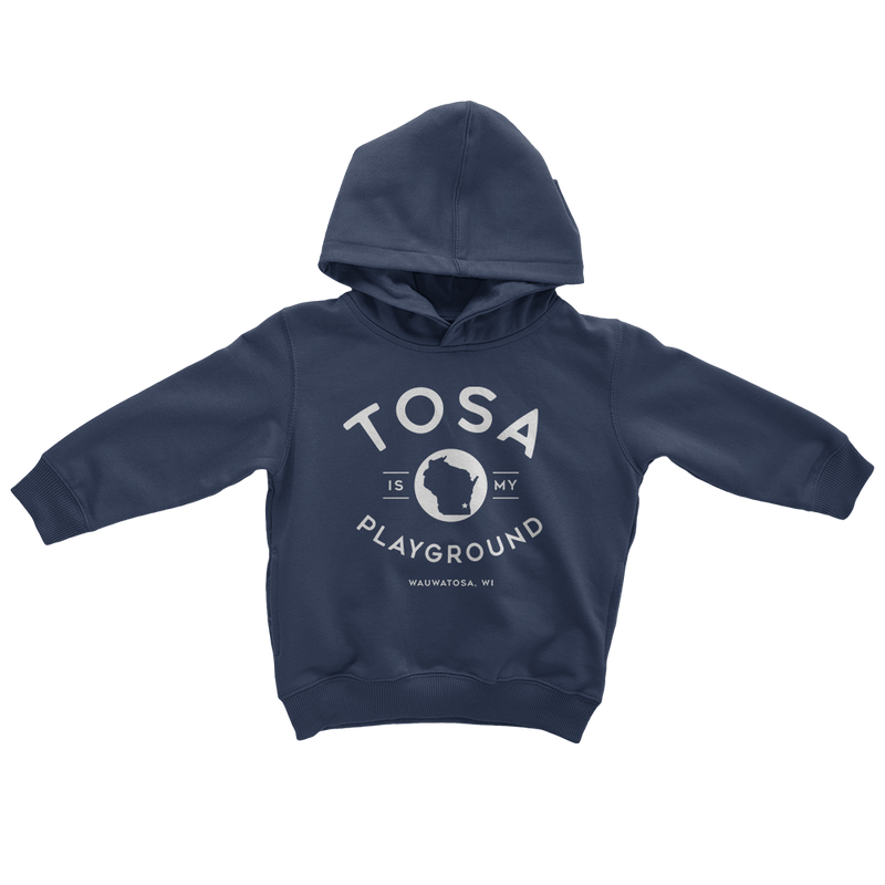 The Tosa Standard Navy Toddler Hoodie - GILTEE