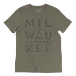 The Milwaukee Pipeline Olive Unisex Tee