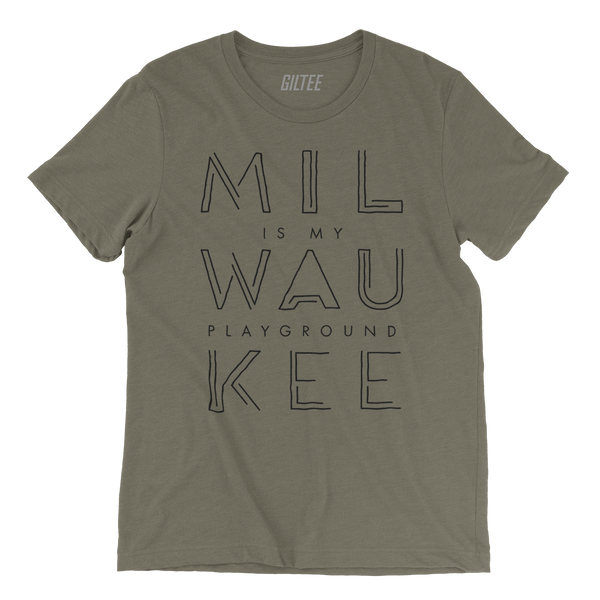 The Milwaukee Pipeline Olive Unisex Tee - GILTEE