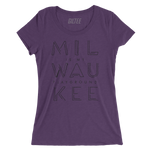 The Milwaukee Pipeline Purple Women's Triblend Tee