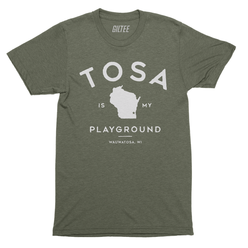 The Wauwatosa Standard Military Triblend Unisex Tee - GILTEE