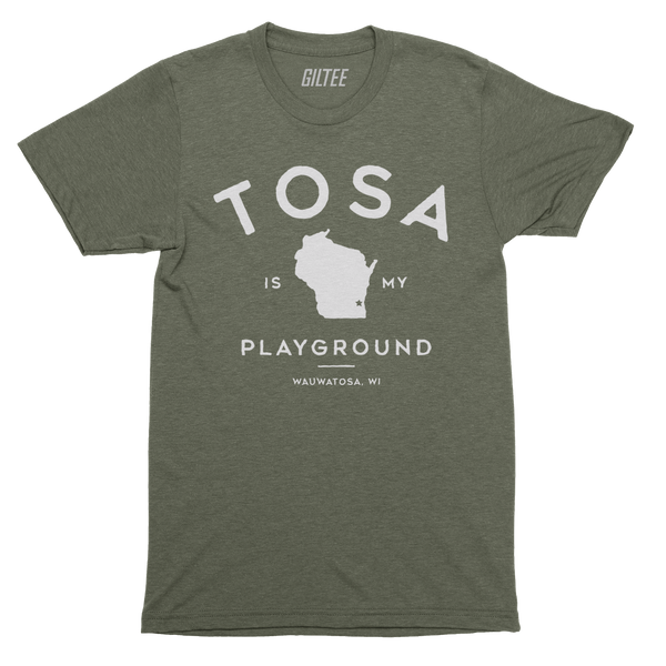 The Wauwatosa Standard Military Triblend Unisex Tee