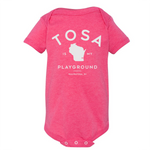 The Wauwatosa Standard Hot Pink Onesie