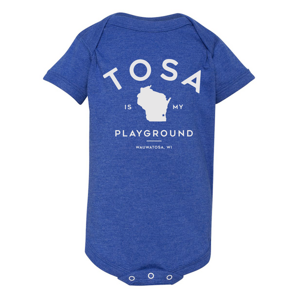 The Wauwatosa Standard Vintage Royal Onesie