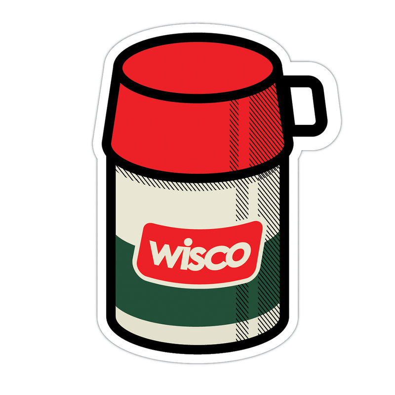 Wisco Thermos Sticker - GILTEE