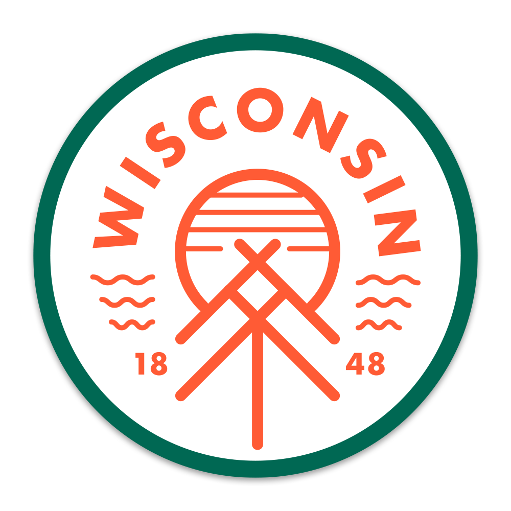 The Wisconsin Native Sticker - GILTEE