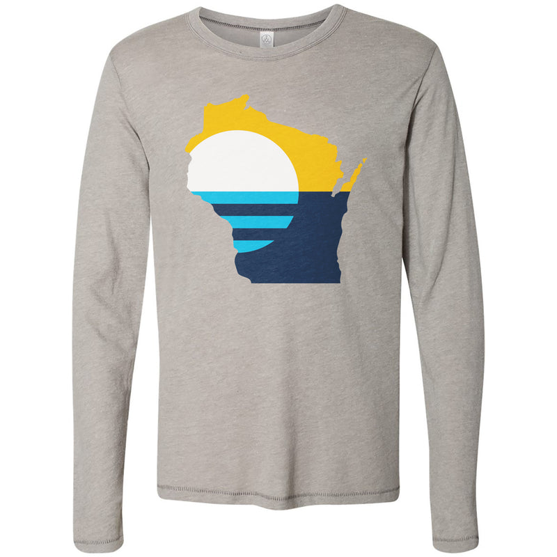 The Flagship Vintage Long Sleeve Knit Unisex Tee - GILTEE