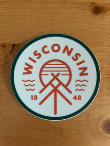 The Wisconsin Native Sticker