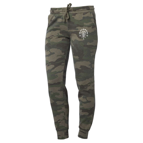 The Native Women's Jogger - Forest Camo - GILTEE