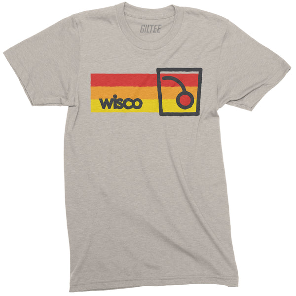 WISCO Old Fashioned Short Sleeve Tee - Sand - GILTEE