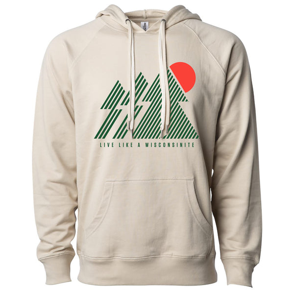 The Wisconsinite Hoodie - Sand - GILTEE