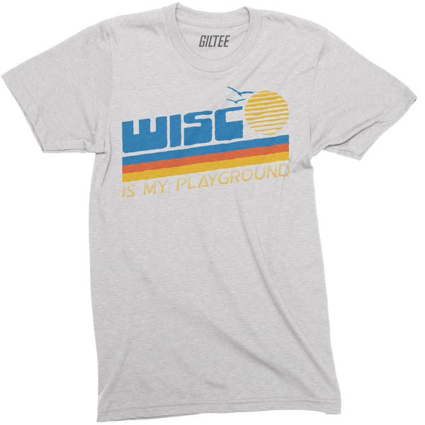 The Sunrise Unisex White Triblend Tee - GILTEE