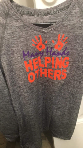 Many Hands Helping Others Shirts