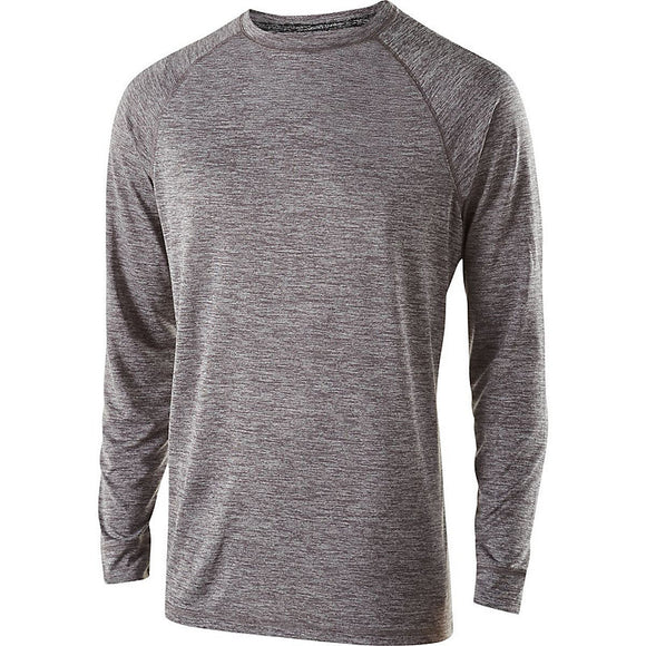 Many Hands Long Sleeve Performance Shirt with Print