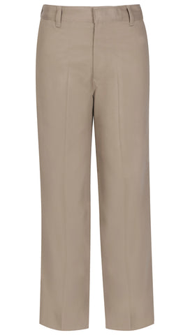 "Men's Flat Front Pant 34"" Inseam  - Khaki *CLEARANCE Sale*"