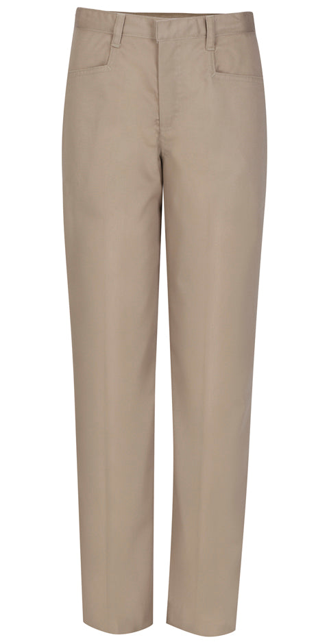 Juniors Low Rise Tall Pant - Khaki *CLEARANCE*