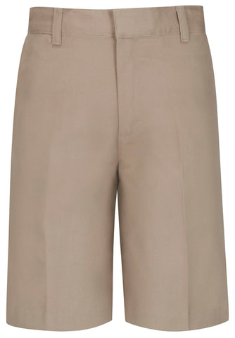 Men's Flat Front Short - Khaki
