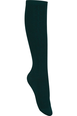 Unisex Cable Knee Socks 3 PK