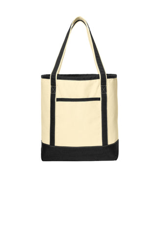 Port Authority® Cotton Canvas Boat Tote