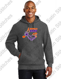 Heavy Weight Hooded Sweatshirt with Band Logo