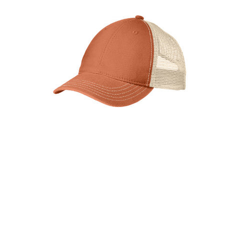 Emroidered Soft Mesh Back Hat