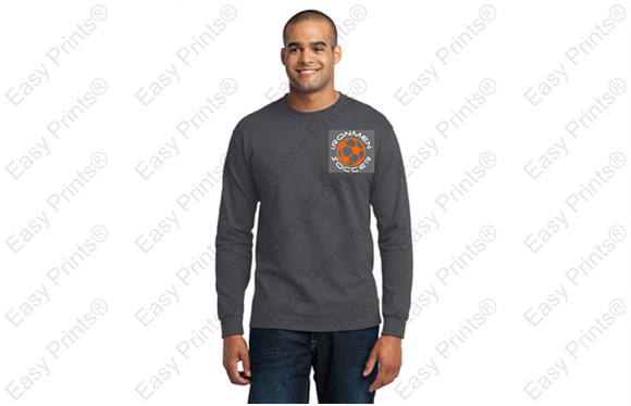 Long sleeve T-shirt with Soccer Print