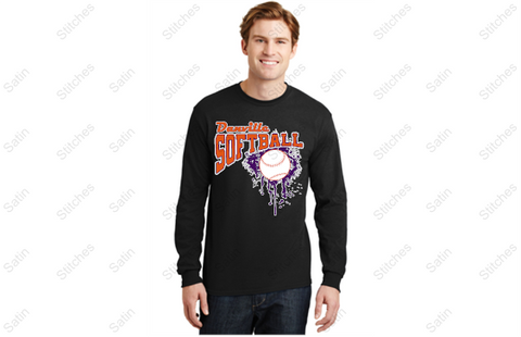 Danville softball long sleeve T-shirt