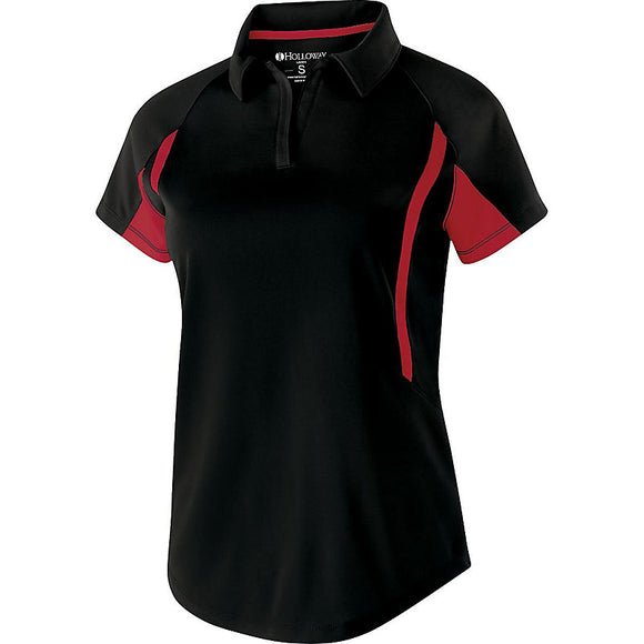 Bloomsburg Ladies Avengers Polo with Stitched Left Chest