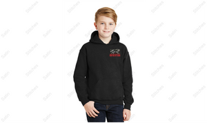 Red Roof Youth Hoodie - Black