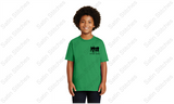 Danville Drama Youth Green T-Shirt with Wizard of Oz logo