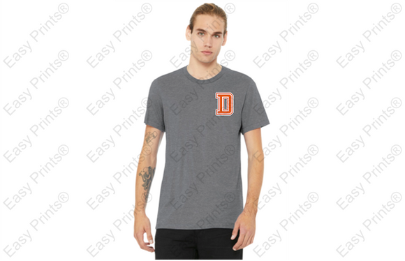Short Sleeve T-Shirt with Soccer Print
