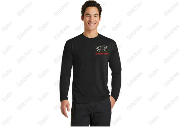 Red Roof Unisex Long Sleeve T-shirt