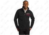 Red Roof Unisex Soft Shell Jacket - Black