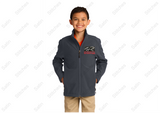 Red Roof Youth Soft Shell Jacket - Black