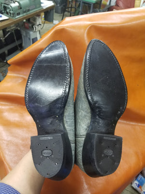 Leather Half Soles and Heels - Boot and Shoe Repair