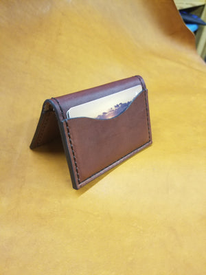 Pilot Wallet in English Bridle - Oxblood
