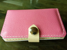 Ladies Wallet - Pretty In Pink with Snap Closure